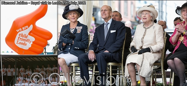 Queen & Duke of Edinburgh visit Leeds, inspiredby, child friendly leeds, photographers leeds