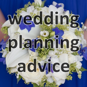wedding planning advice, what to think about when planning a wedding