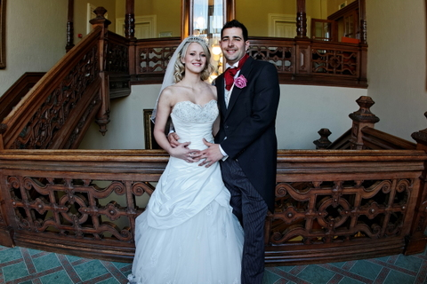 wedding photographer for Menzies Welcombe hotel, Stratford, England