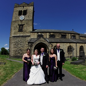 Tong hotel wedding photographers, Morley wedding photography, Drighlington St Paul's church