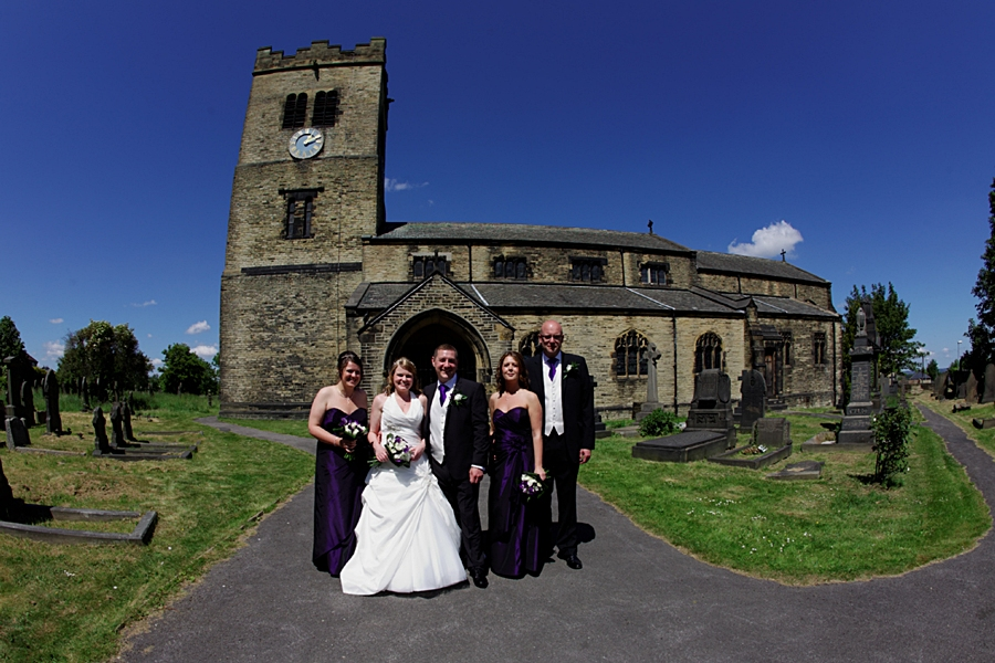 St Paul's Church, Drighlington, Leeds, Yorkshire, wedding, church family photos, wedding photographers in Morley