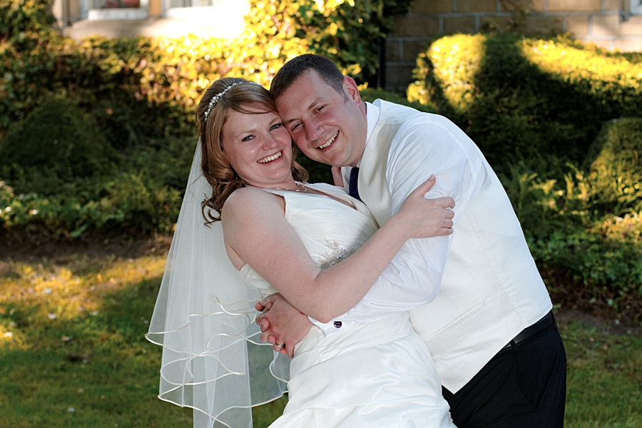 wedding photos in Tong, the Holiday Inn at Tong, bride & groom, wedding photography