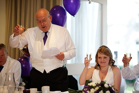 wedding reception at Tong Holiday Inn hotel, photography in Morley, wedding photographers Morley