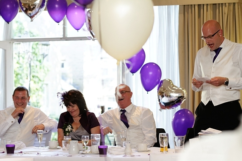 reception photography at Holiday Inn Tong, reportage wedding photographer Morley, quality wedding photography Morley