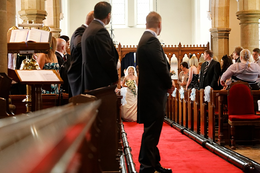 wedding photographers in Garforth, Leeds, church wedding photography