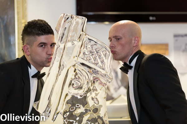 Yorkshire event photographers, Leeds event photography, headingley stadium, ice sculpture
