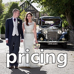 wedding photography prices Yorkshire