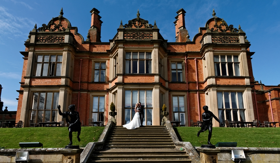 Menzies Welcombe Hotel, wedding, rear view of hotel architectural photography