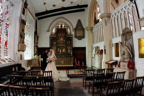 Leeds minster, Leeds Parish church, Lady chapel, small wedding venues in Leeds, church wedding photographers, Yorkshire wedding photography, get married in Leeds, venues