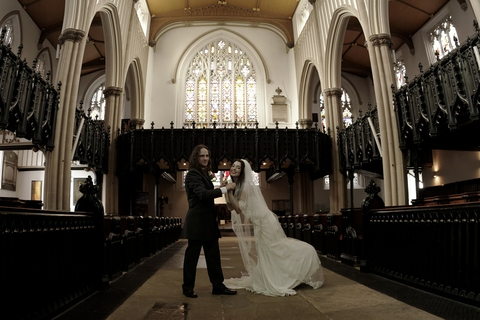 wedding photographers, Leeds parish church, photography, marriage ceremony, bride and groom, getting married in Leeds